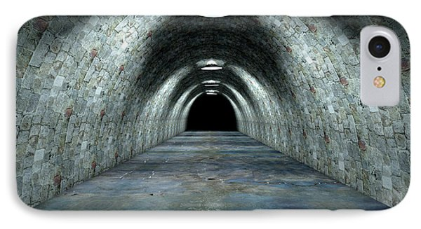 Long Tunnel Lights IPhone Case