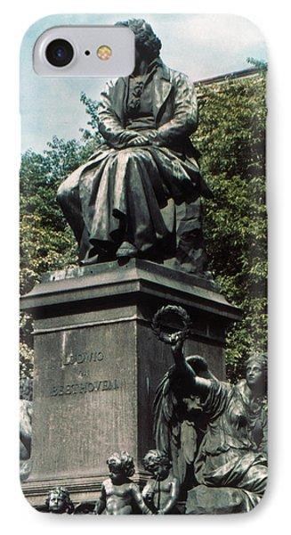Ludwig Van Beethoven Phone Case by Granger