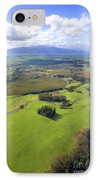 Maui Aerial Phone Case by Ron Dahlquist - Printscapes