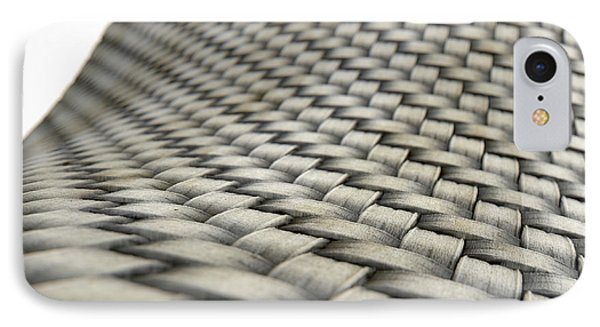 Micro Fabric Weave Dirty IPhone Case by Allan Swart