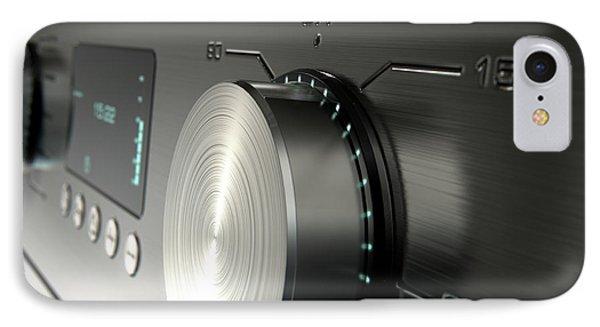 Modern Washing Machine Closeups IPhone Case
