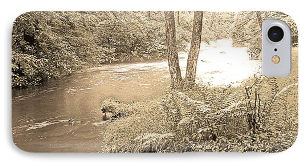 IPhone Case featuring the photograph Mud Run Pocono Mountain Stream Pennsylvania by A Gurmankin