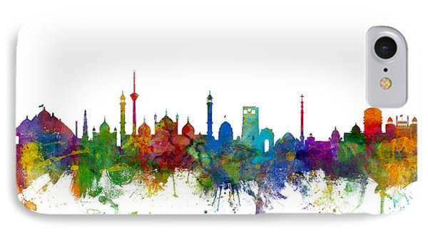 New Delhi India Skyline IPhone Case by Michael Tompsett