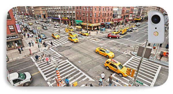 New York City IPhone Case by Luciano Mortula