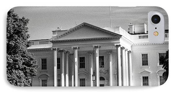 northern facade of the white house Washington DC USA IPhone Case