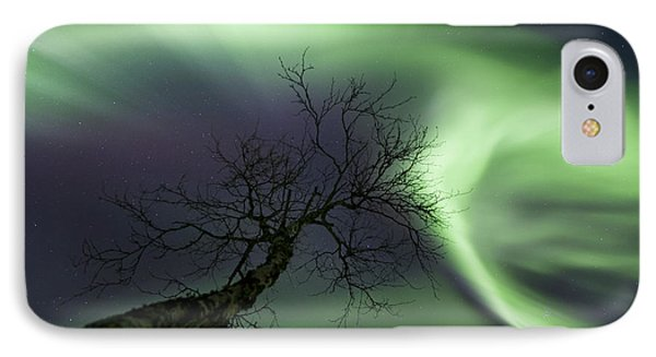 Northern Lights In The Arctic Phone Case by Arild Heitmann