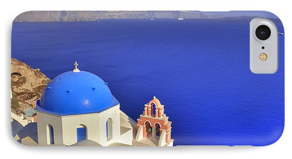Oia - Santorini IPhone Case by Joana Kruse