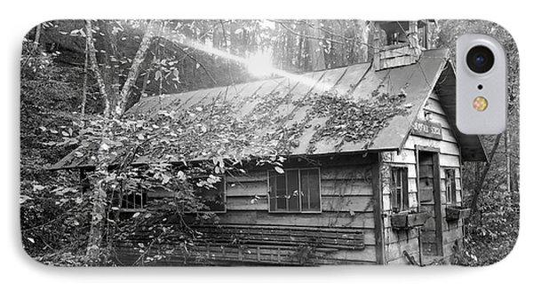 One Room School House Gnawbone Indiana IPhone Case by Scott D Van Osdol