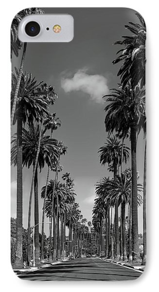 Beverly Hills iPhone 7 Case - Palms Of Beverly Hills by Mountain Dreams