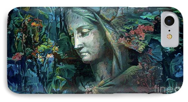 Peaceful Madonna IPhone Case