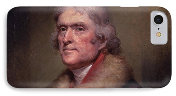 President Thomas Jefferson IPhone 7 Case by War Is Hell Store