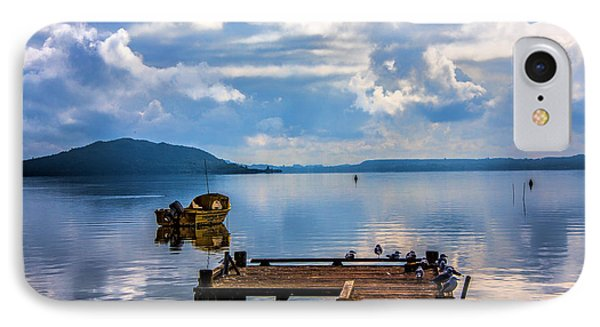 IPhone Case featuring the photograph Quiet Lake by Rick Bragan