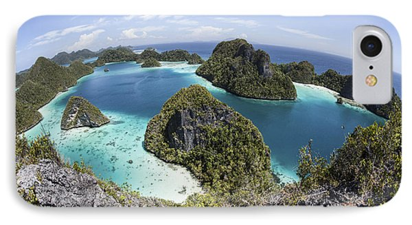 Rugged Limestone Islands Surround IPhone Case by Ethan Daniels