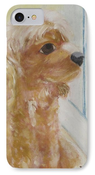 Rusty Aka Digger Dog IPhone Case by Patricia Cleasby