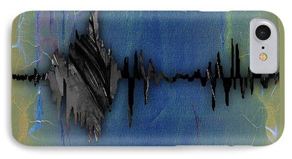 Smile Sound Wave IPhone Case