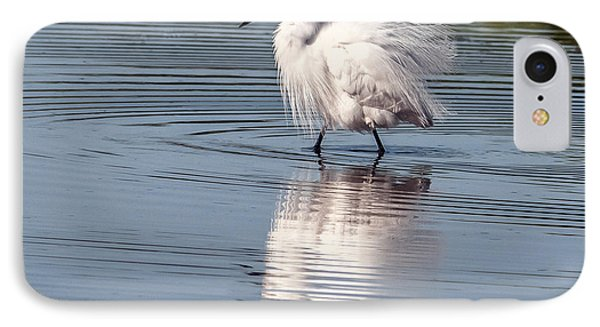 Snowy Egret IPhone Case by Tam Ryan