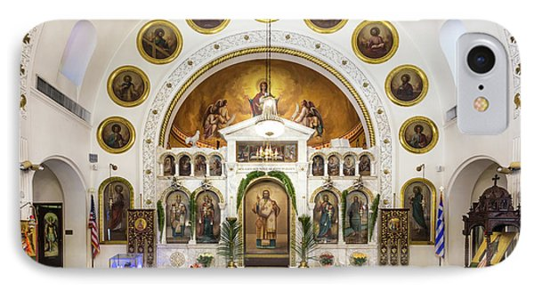 St. Nicholas Greek Orthodox Cathedral,tarpon Springs, Florida IPhone Case by Dawna Moore Photography