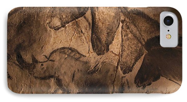 Stone-age Cave Paintings, Chauvet, France Phone Case by Javier Truebamsf