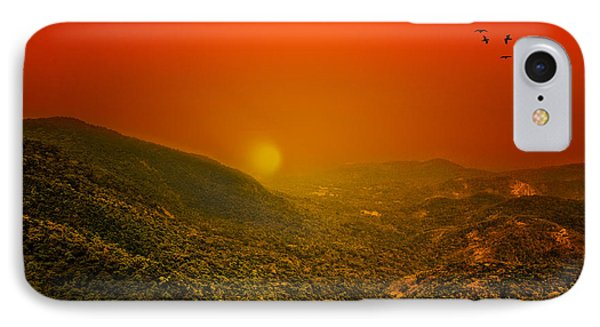 Sunset IPhone Case by Charuhas Images