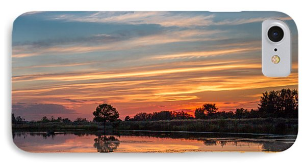 Sunset Reflections Phone Case by Robert Bales