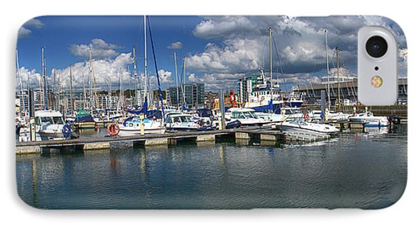 Sutton Harbour Plymouth Phone Case by Chris Day
