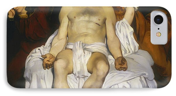 The Dead Christ With Angels IPhone Case by Edouard Manet