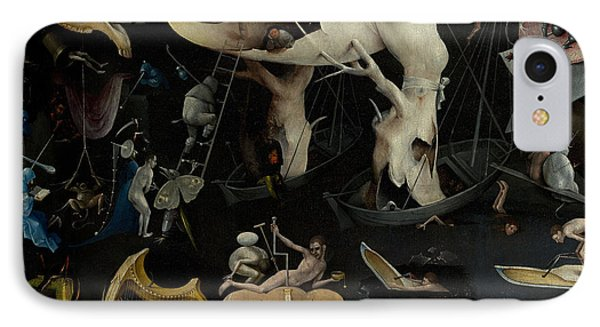 The Garden Of Earthly Delights IPhone Case by Hieronymus Bosch