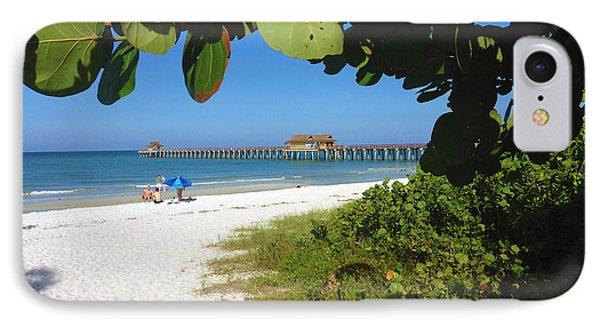 The Historic Naples Pier IPhone Case