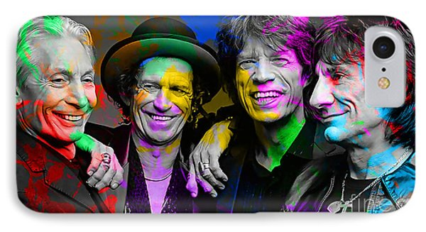 The Rolling Stones Phone Case by Marvin Blaine