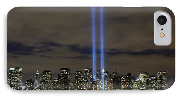 The Tribute In Light Memorial Phone Case by Stocktrek Images