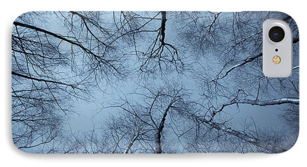 Trees In Epping Forest IPhone Case