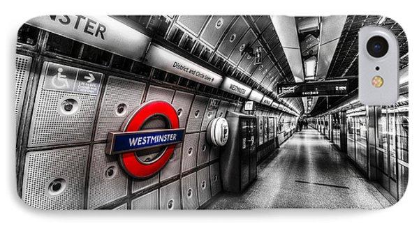 Underground London IPhone 7 Case by David Pyatt