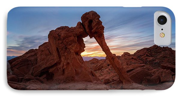 Valley Of Fire S.p. IPhone Case by Jon Manjeot