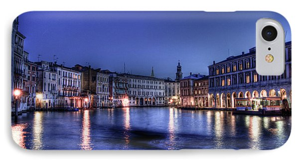 Venice By Night IPhone Case by Andrea Barbieri