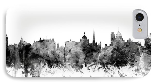 Victoria Canada Skyline IPhone Case by Michael Tompsett