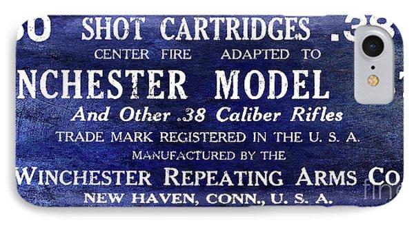 Vintage Ammunition Sign IPhone Case