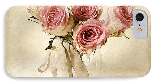 Vintage Bouquet IPhone Case by Jessica Jenney
