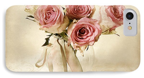 Vintage Bouquet IPhone Case by Jessica Jenney