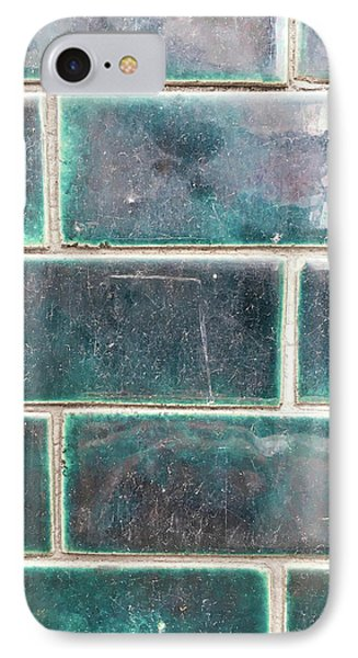 Wall Tiles IPhone Case by Tom Gowanlock