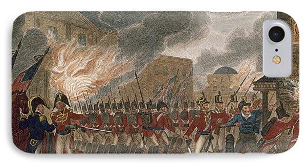 Washington Burning, 1814 Phone Case by Granger
