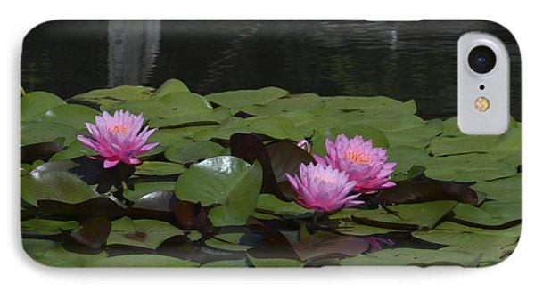 Water Lilies Phone Case by Linda Geiger
