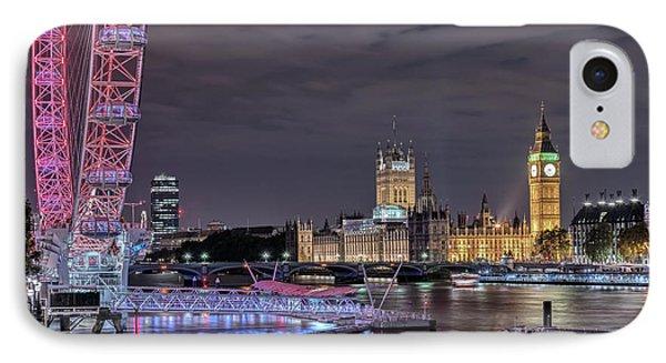 Westminster - London IPhone 7 Case by Joana Kruse