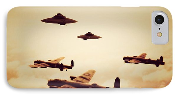 Wwii What If IPhone Case by Raphael Terra