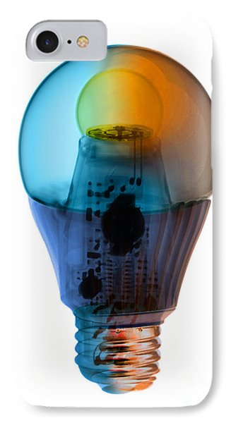 X-ray Of An Energy Efficient Light IPhone Case by Ted Kinsman