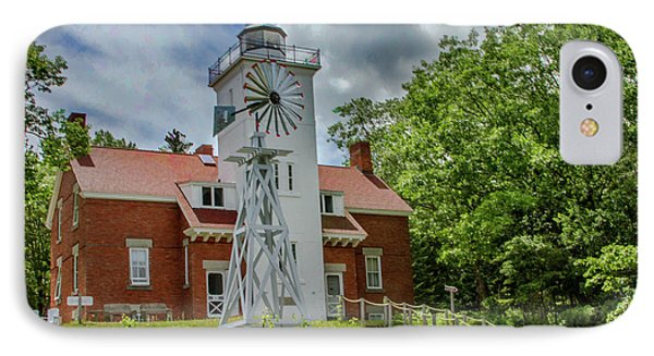40 Mile Point Lighthouse IPhone Case