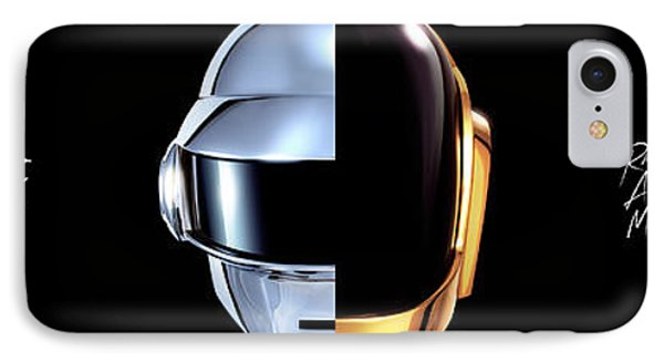 43756 Daft Punk Dual Screen Dual Monitor Daft Punk Random Access Memory Dual Screen IPhone Case