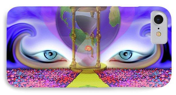 444 Spiritual Path #189 IPhone Case by Barbara Tristan