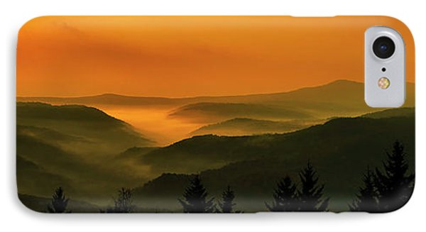 IPhone Case featuring the photograph Allegheny Mountain Sunrise by Thomas R Fletcher