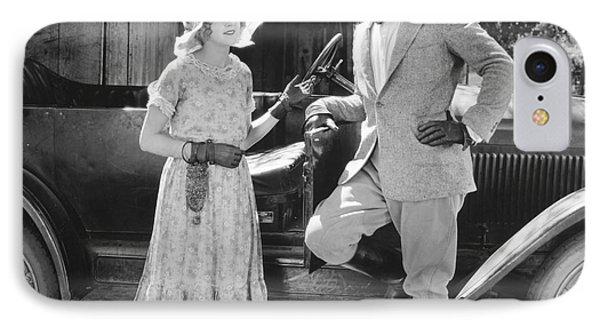 Silent Film Still: Couples Phone Case by Granger