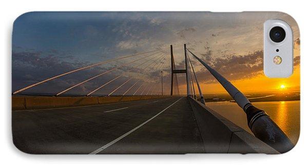 486 Feet Sunrise IPhone Case by Chris Bordeleau